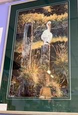 Purple Pigeon Treasures Andrew Kiss Picture of Heron in Williams Lake BC
