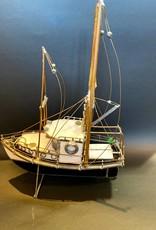 Purple Pigeon Treasures Glass Boat - Sanger