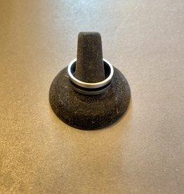 Purple Pigeon Treasures Ring    Stainless Steel   Size 13.5