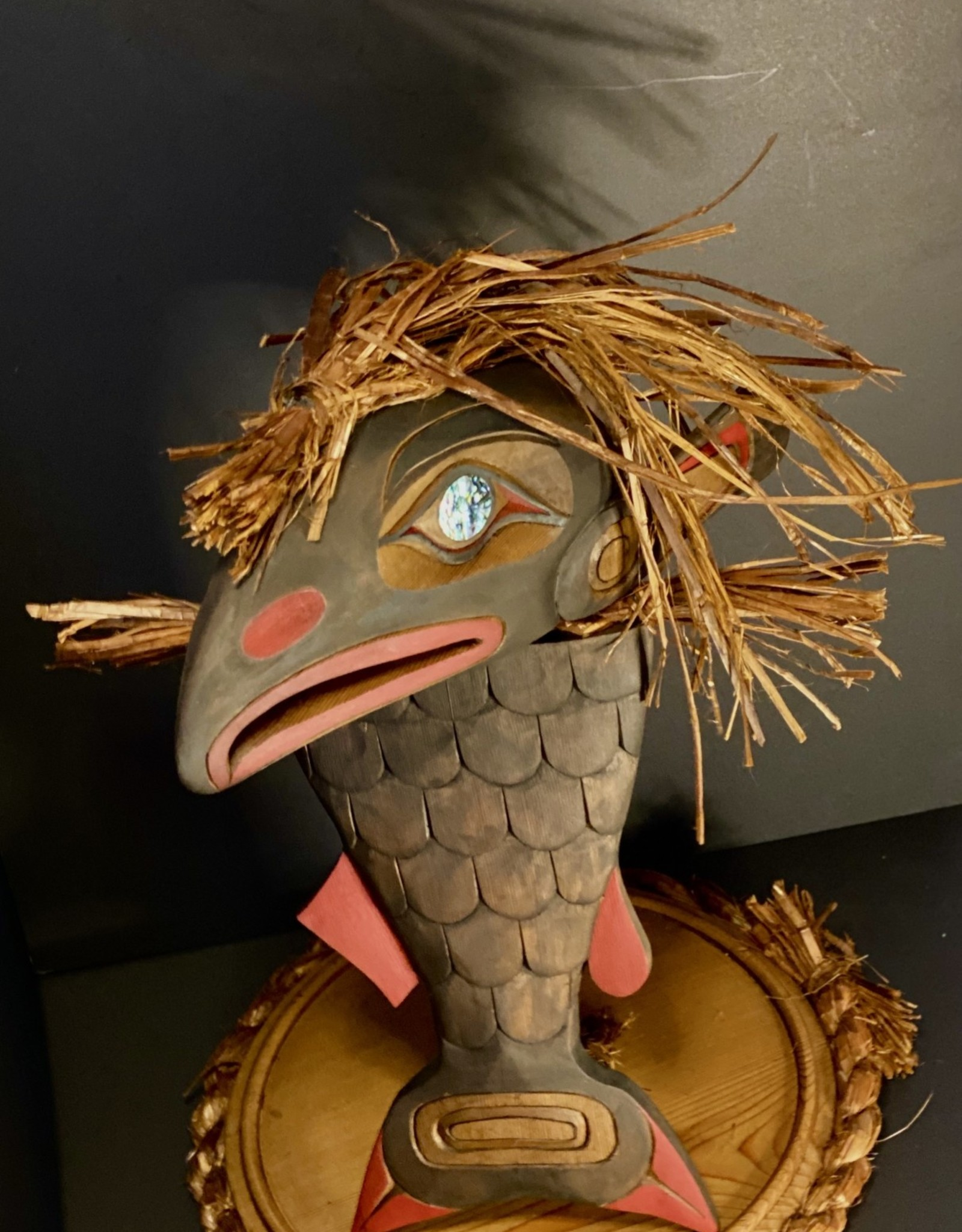 Aboriginal - 2 Piece fish tail with Eagle Head