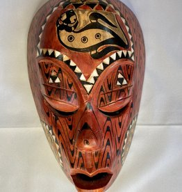 Red Painted Mask - Sm