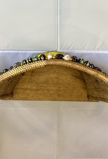 Beaded Baby Carrying Half Back Basket