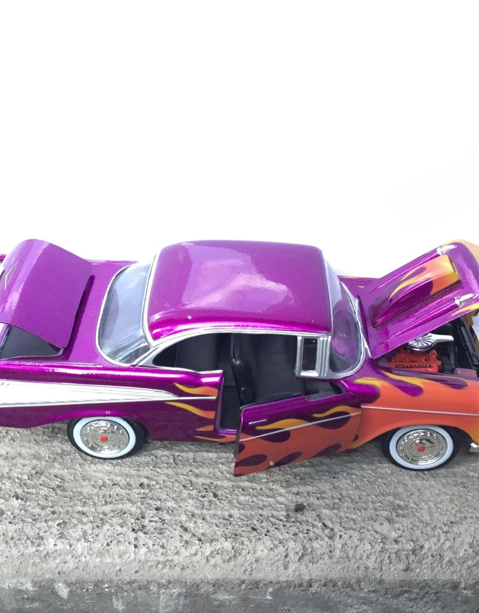 Purple Pigeon Treasures Purple 1957 Chevy Bel Air