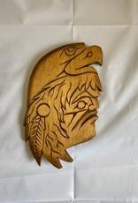 Aboriginal - Eagle on-top of Person