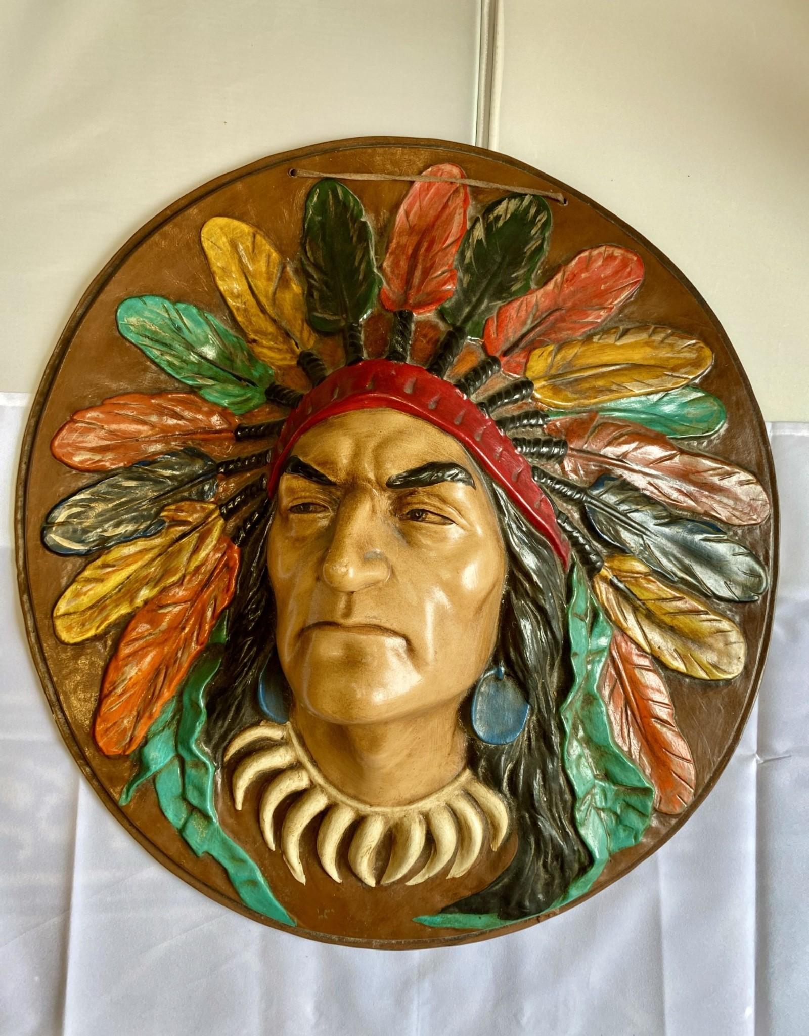 Aboriginal - Cheif Plaque
