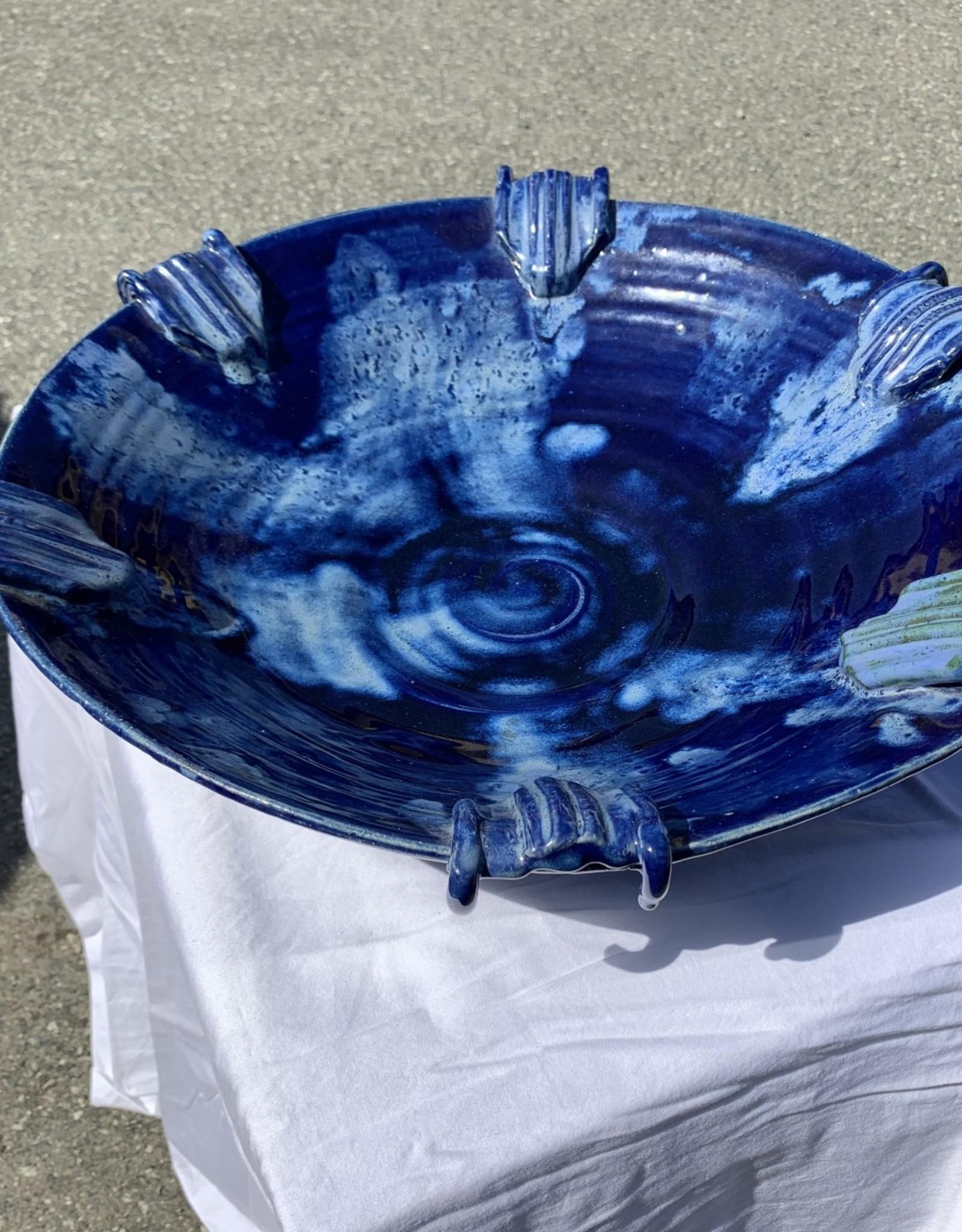 Purple Pigeon Treasures Large decorative Dish