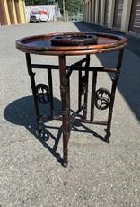 Purple Pigeon Treasures Foldable Wood top table
