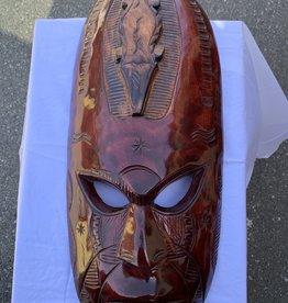 Purple Pigeon Treasures Wood Mask