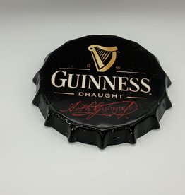 Guinness Bottle Cap Sign