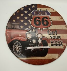 "Route 66 ""Get your Kicks"" Sign"
