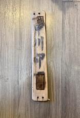 Purple Pigeon Treasures Japanese Wood Slat Float