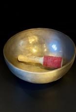 Hand Pounded Meditation Bowl - LG