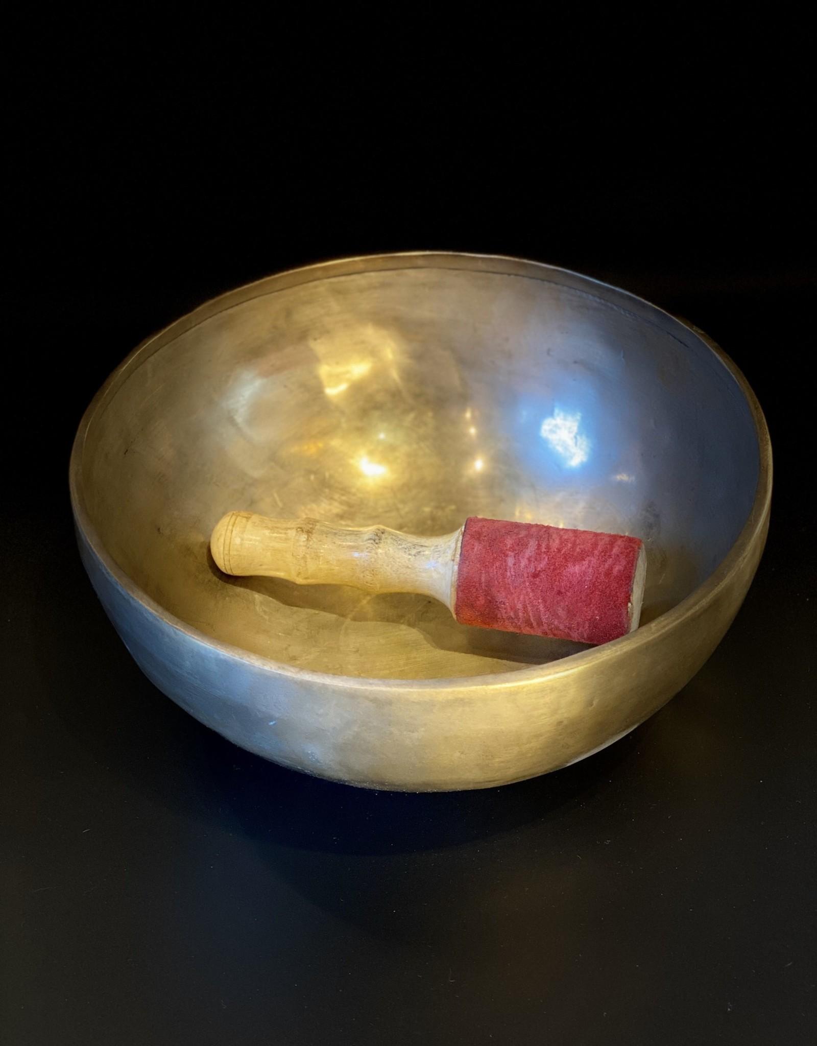 Crystals - Hand Pounded Meditation Bowl - LG