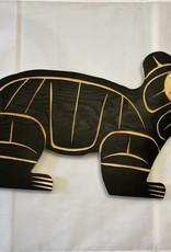 Native Bear Carving