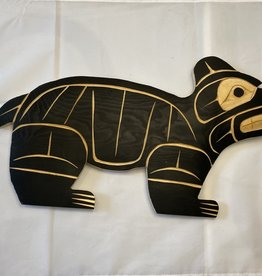 Native Bear Carving