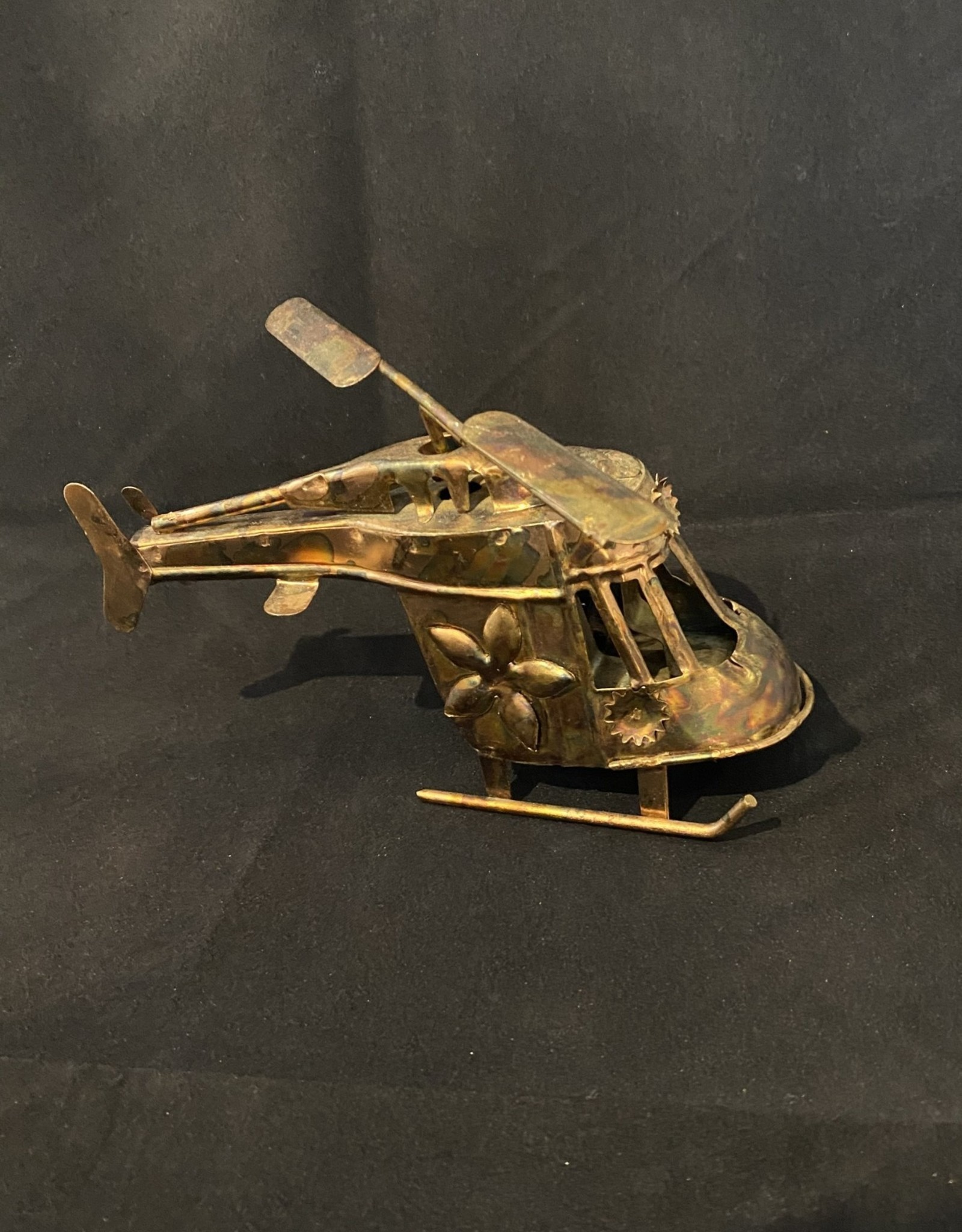 Brass Helicopter music box