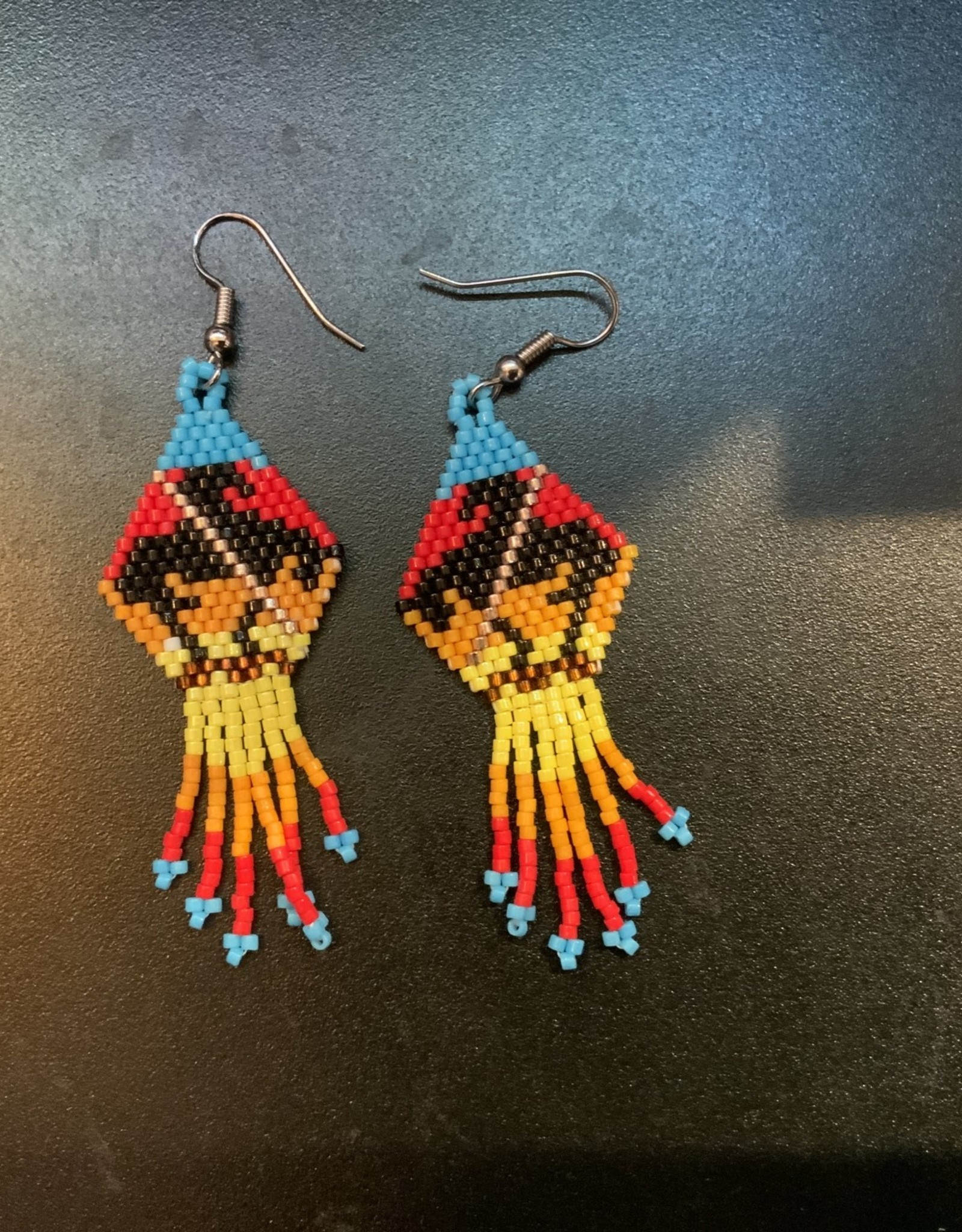 Native Beadwork Earrings