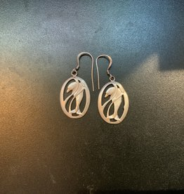 Dolphin Earrings .925