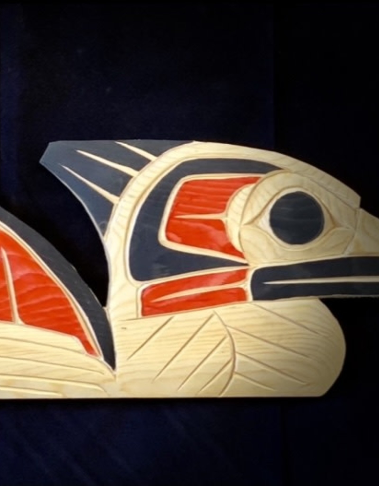 Native Loon Carving