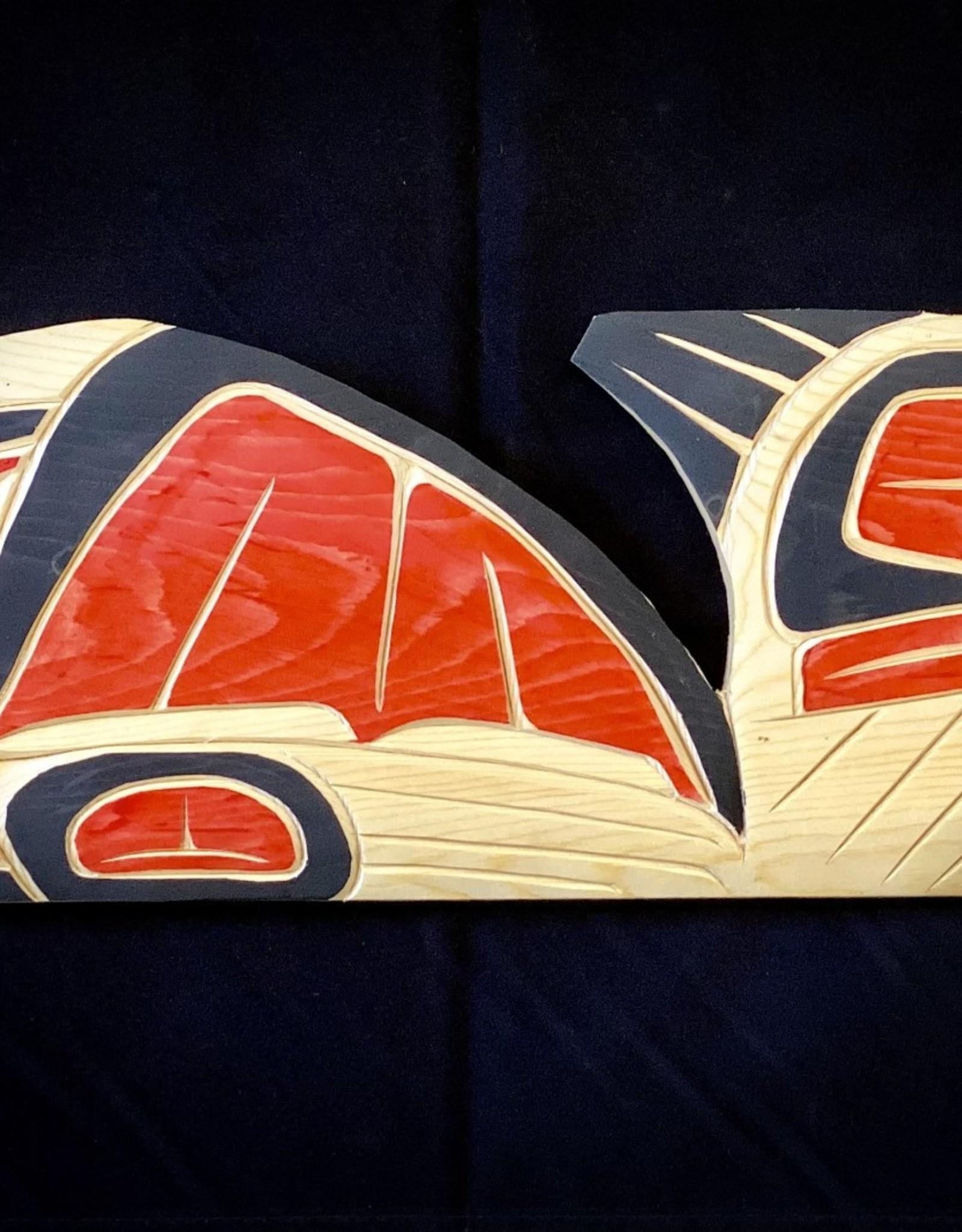 Purple Pigeon Treasures Native Loon Carving