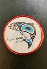 Ladysmith Salmon Magnet (Red)