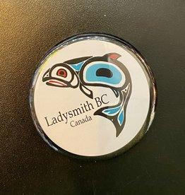 Ladysmith Salmon Magnet (Black)