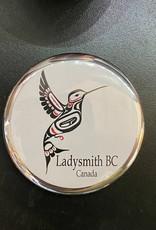 Ladysmith Humming Bird Magnet (Silver)