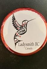 Humming Bird Magnet (Red)