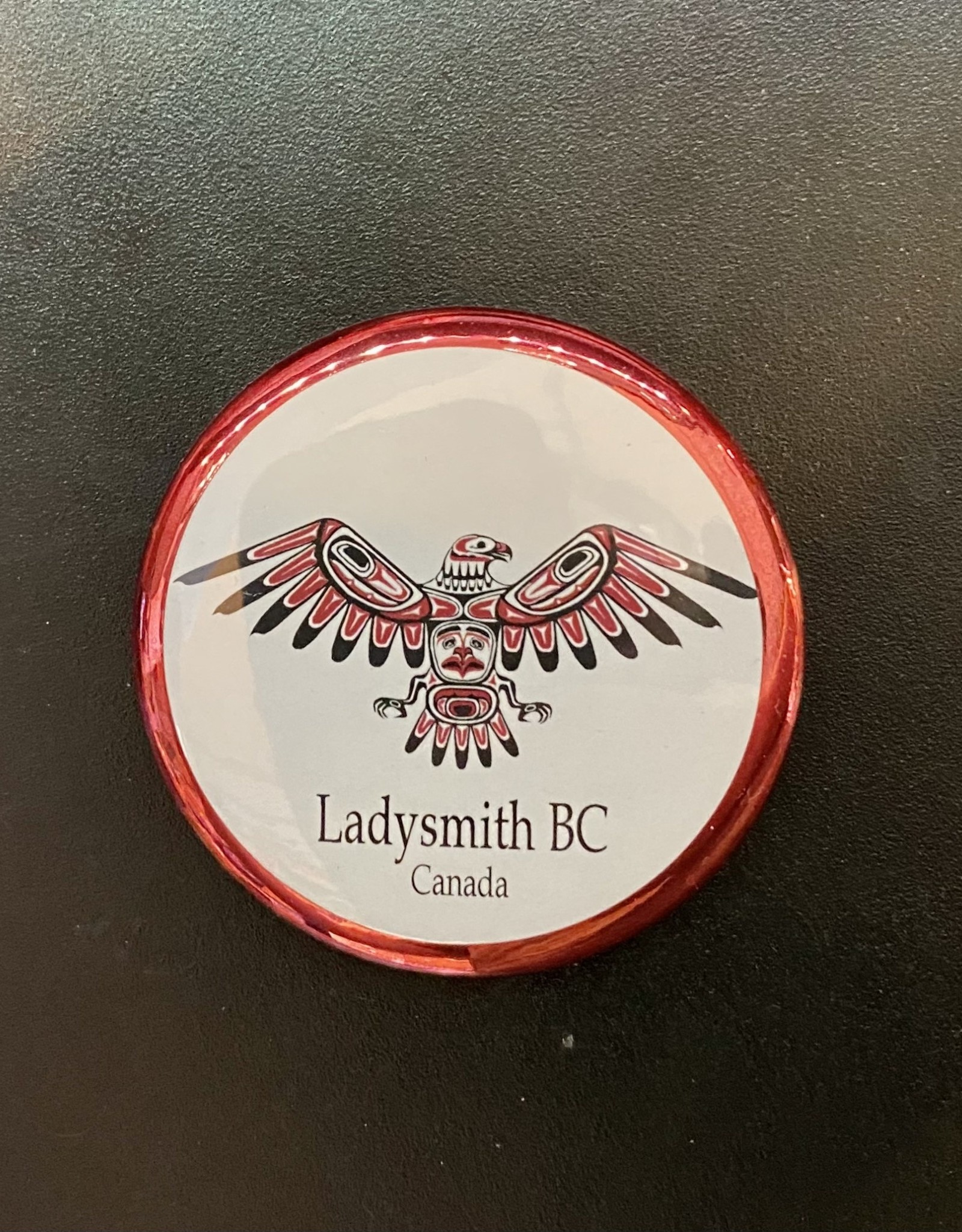 Ladysmith Eagle Magnet (Red)