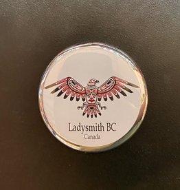 Ladysmith Eagle Magnet (Silver)
