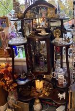 Purple Pigeon Treasures Antique Cabinet