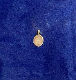 Rose Quartz Stone Pendant   .925