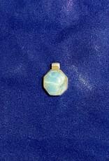 Purple Pigeon Treasures Larimar Stone Pendant   .925