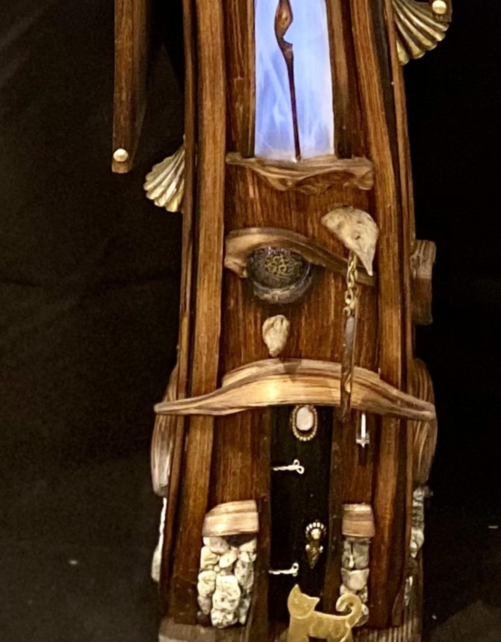 Kozier  Bird House - Copper Cat