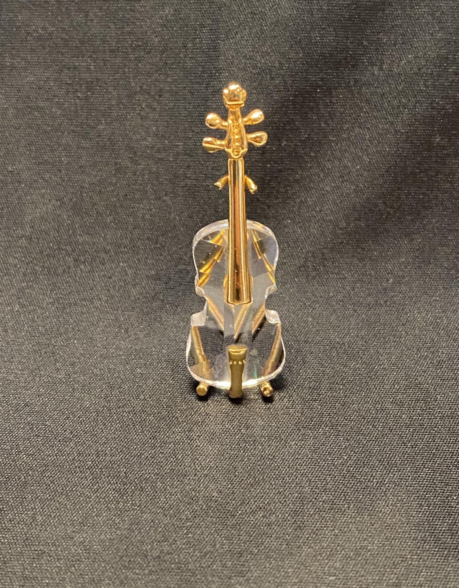 Purple Pigeon Treasures Swarovski Crystal Violin