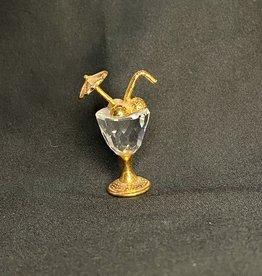 Purple Pigeon Treasures Swarovski Crystal Drink