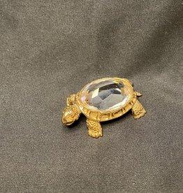Purple Pigeon Treasures Swarovski Crystal Turtle
