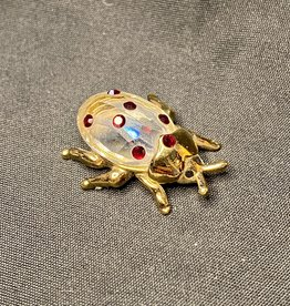 Purple Pigeon Treasures Star Collection Crystal Ladybug