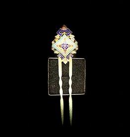 Jewelry - Russian Rare 19th Century Enamel Hair Pin