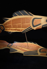 Aboriginal - 3D Salmon Carving