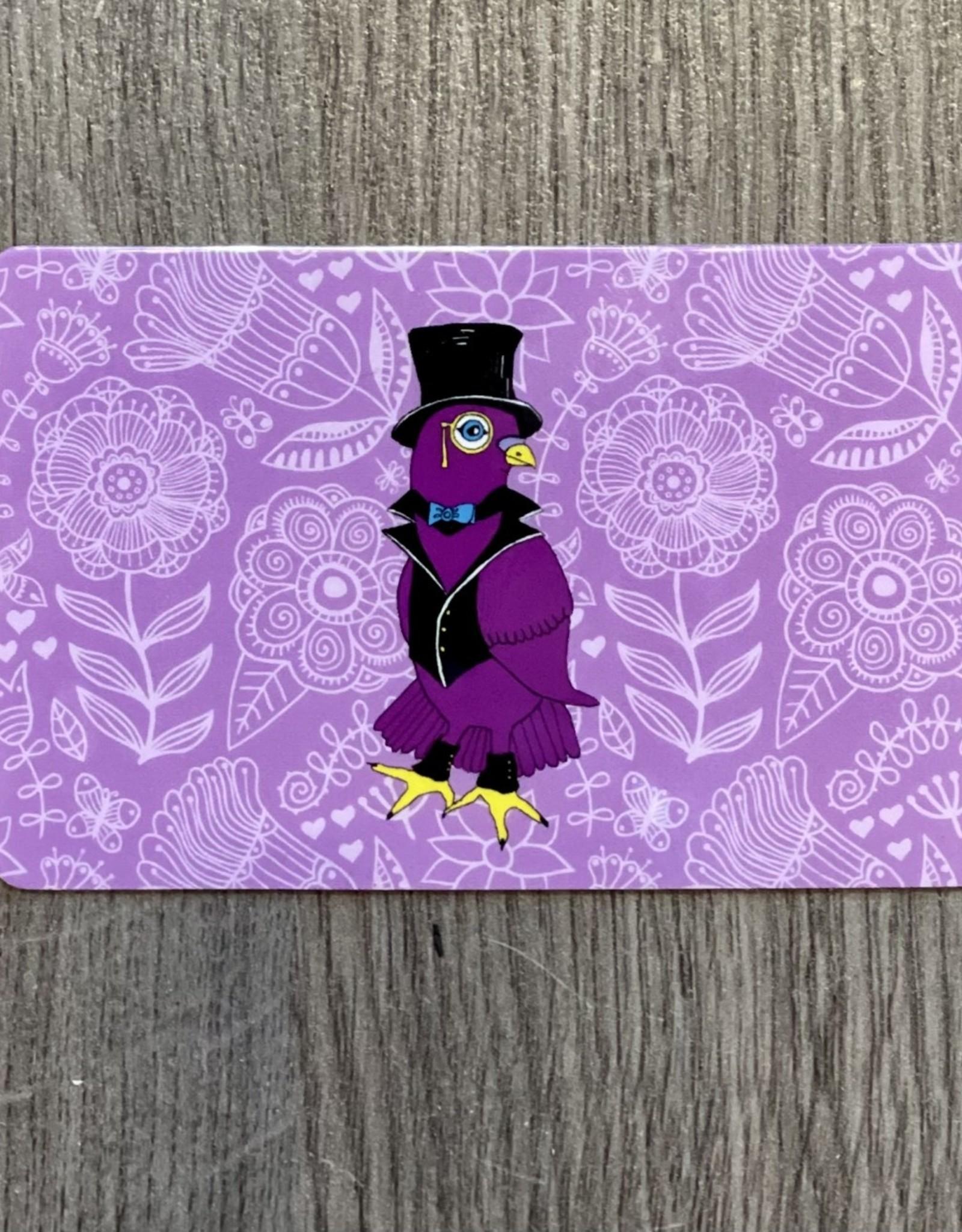 Purple Pigeon Treasures Gift Card - Purple