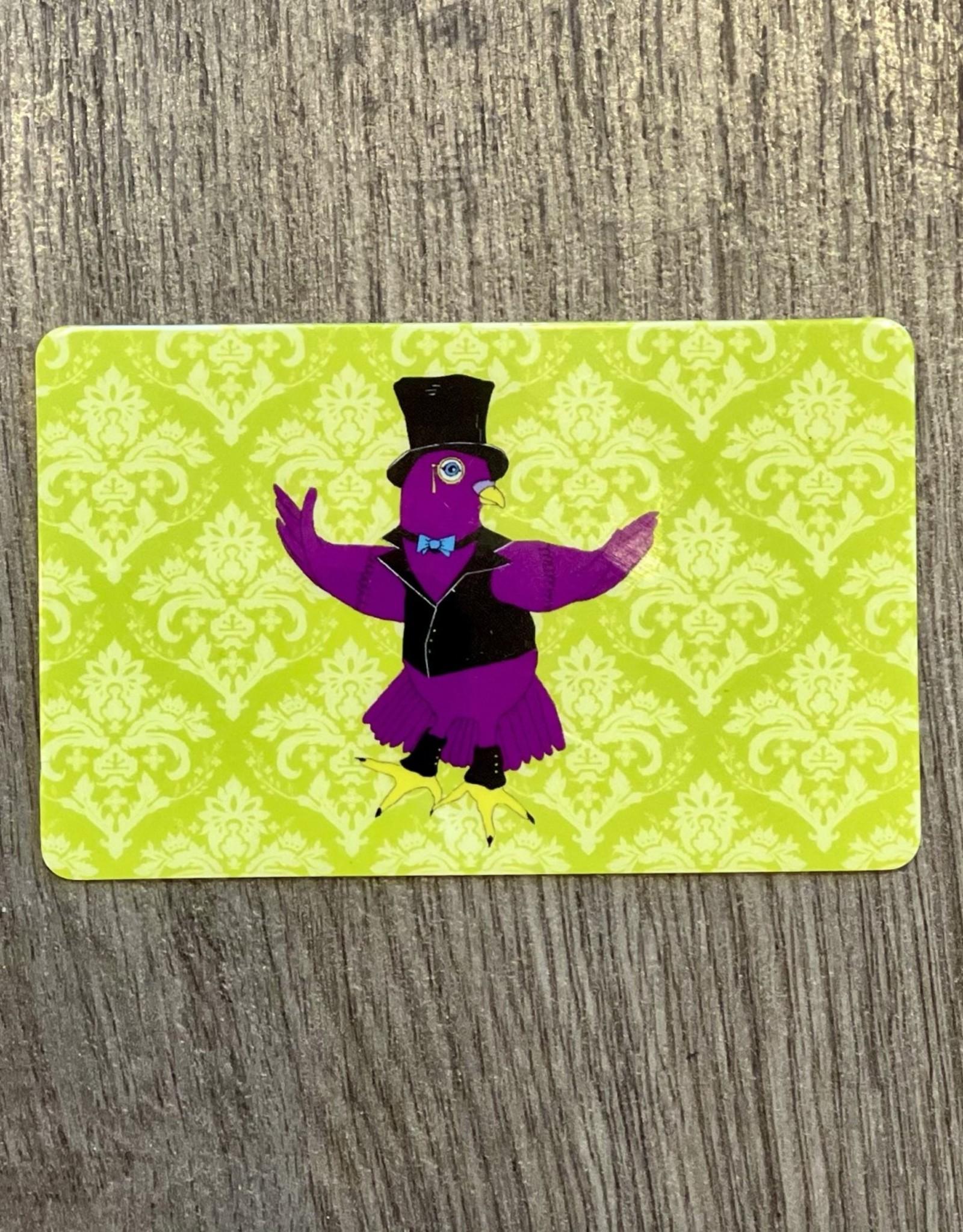 Purple Pigeon Treasures Gift Card - Green