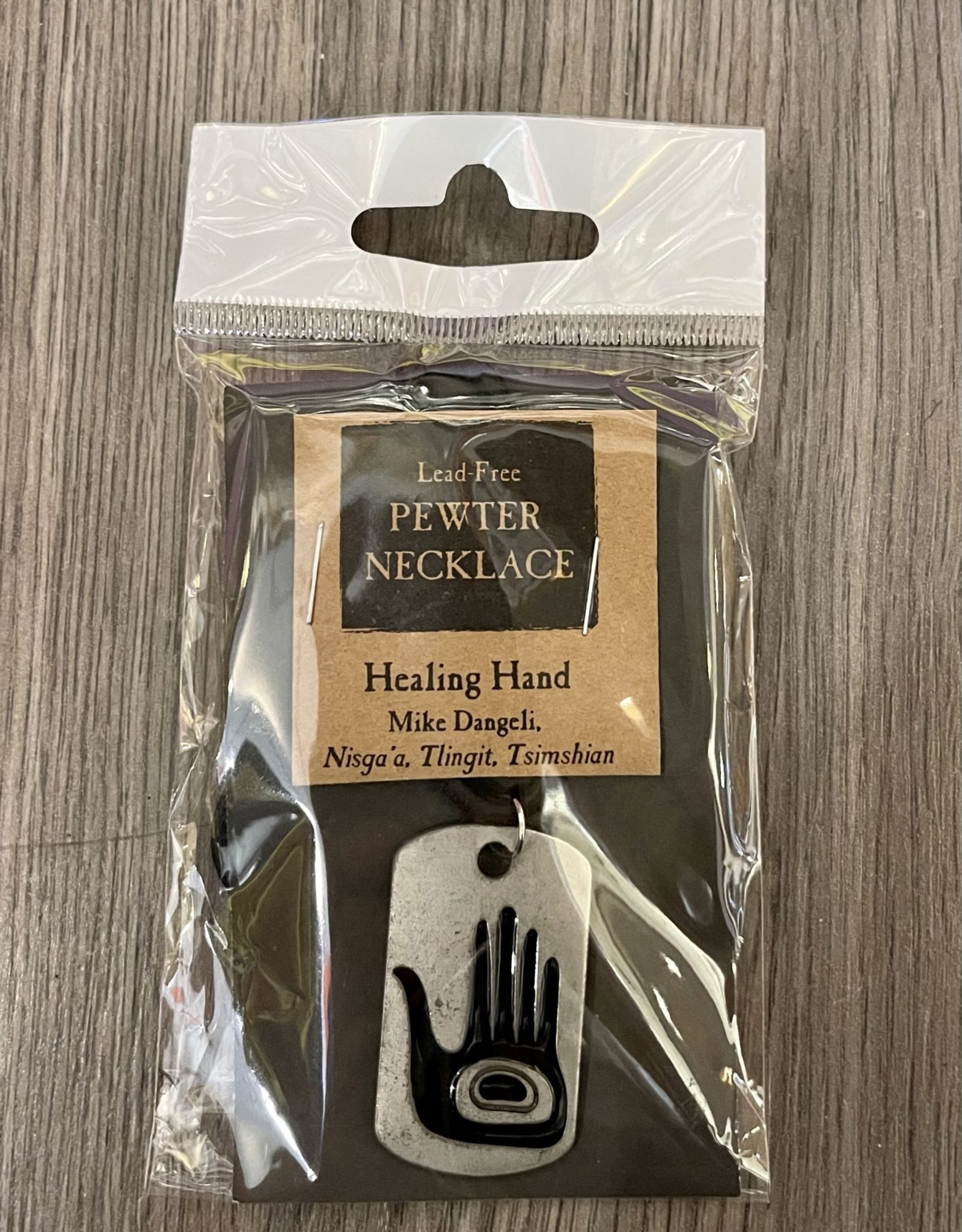 Purple Pigeon Treasures Native Lead-Free Pewter Necklace