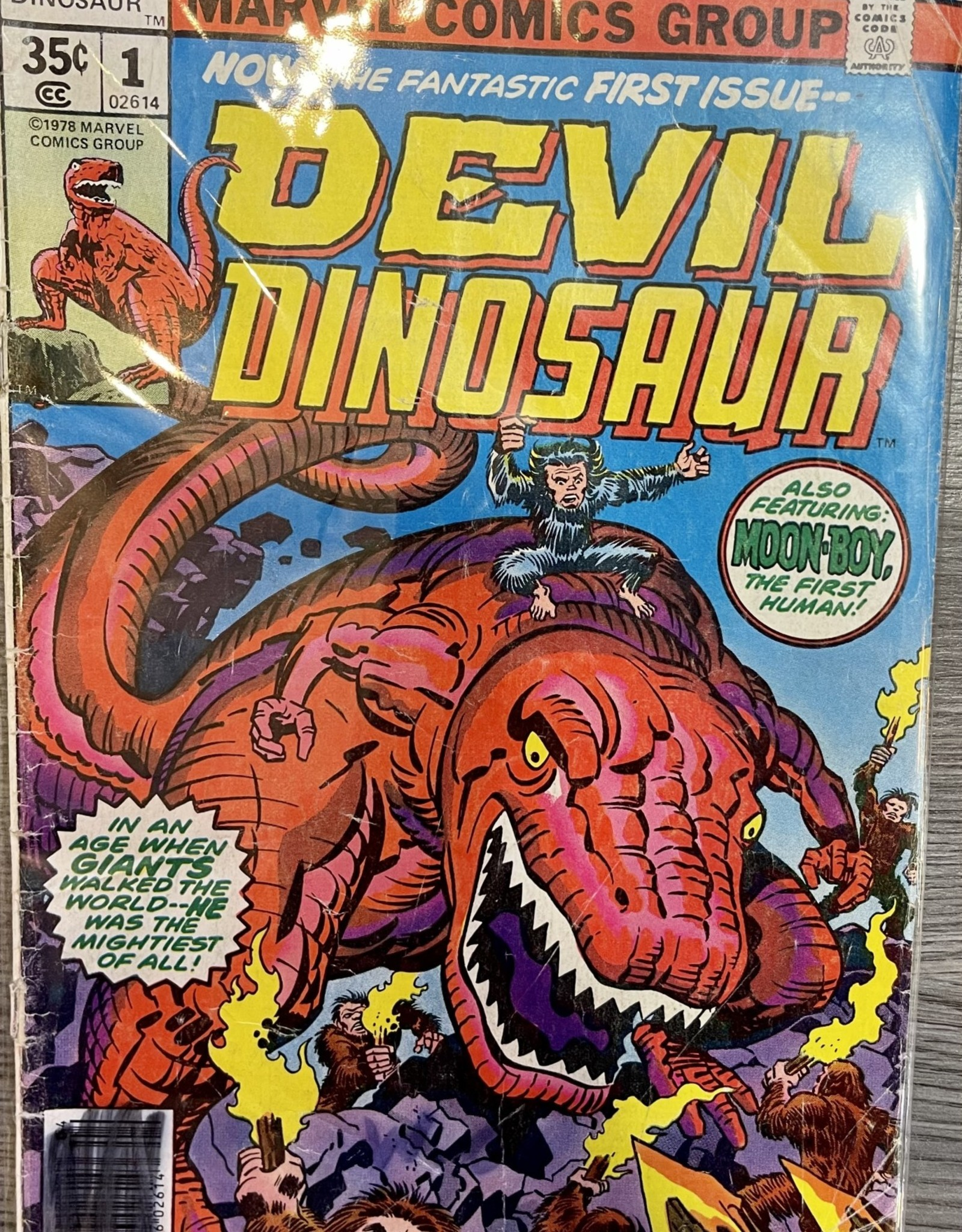 Devil Dinosaur - First Issue