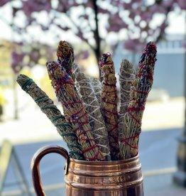 Purple Pigeon Treasures Sage Smudge Stick - SM
