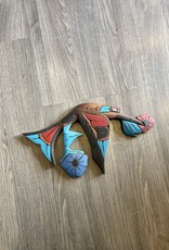 Purple Pigeon Treasures Hummingbird Carving