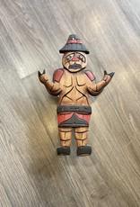 Welcoming Man Carving