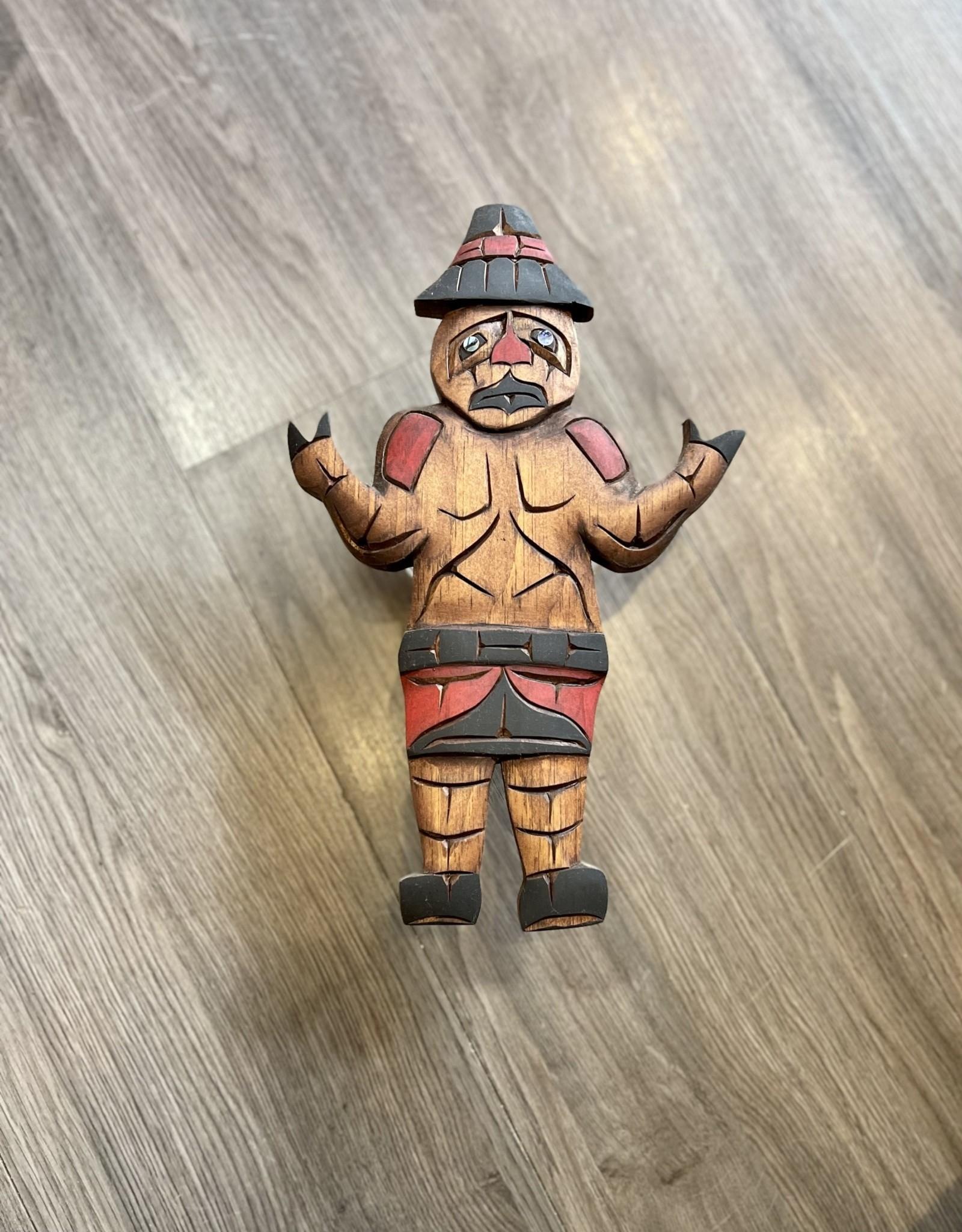 Aboriginal - Welcoming Man Carving