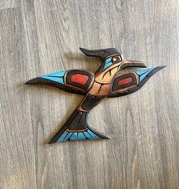 Purple Pigeon Treasures Kingfisher Carving