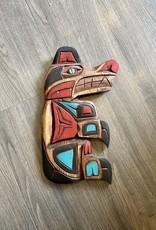 Aboriginal - Bear Carving With Abalone Eye